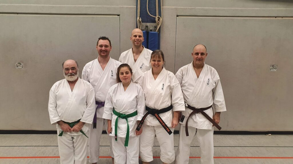 Die Grevener Karateka beim Tomo Training