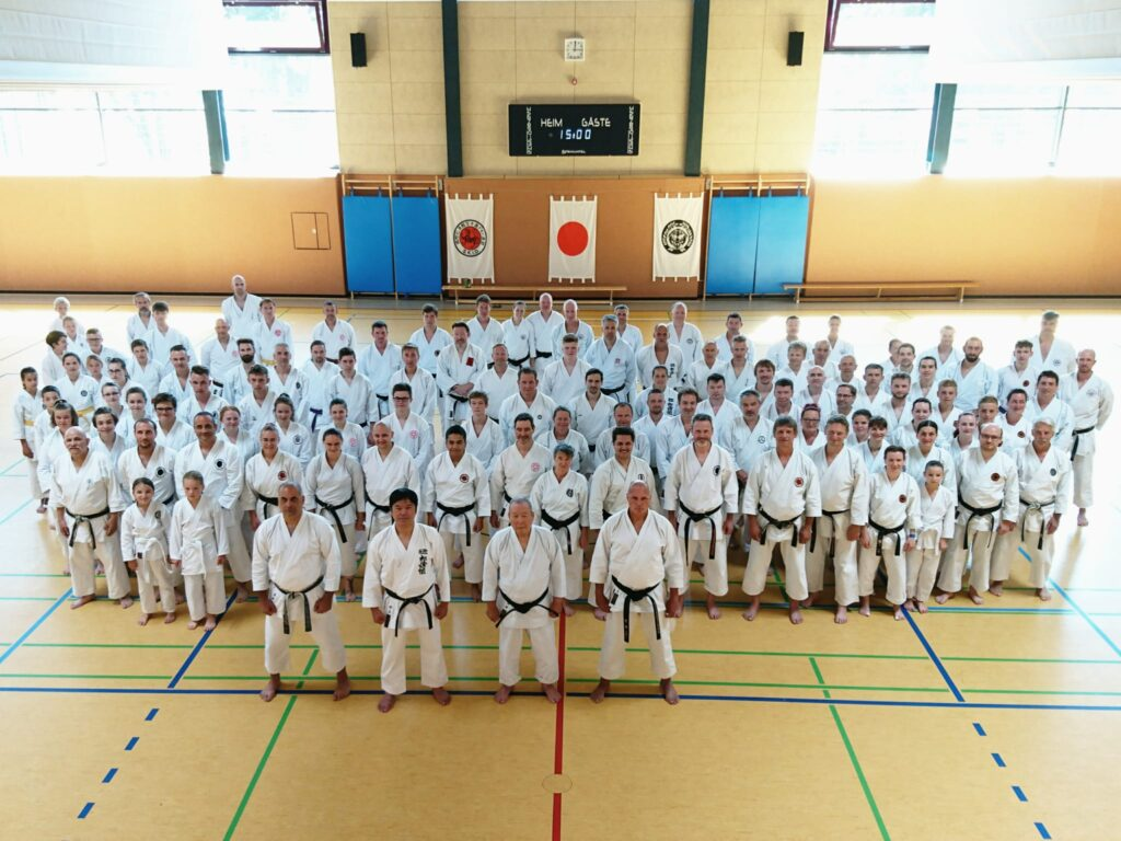 Sommergasshuku 2021 - Gruppenbild