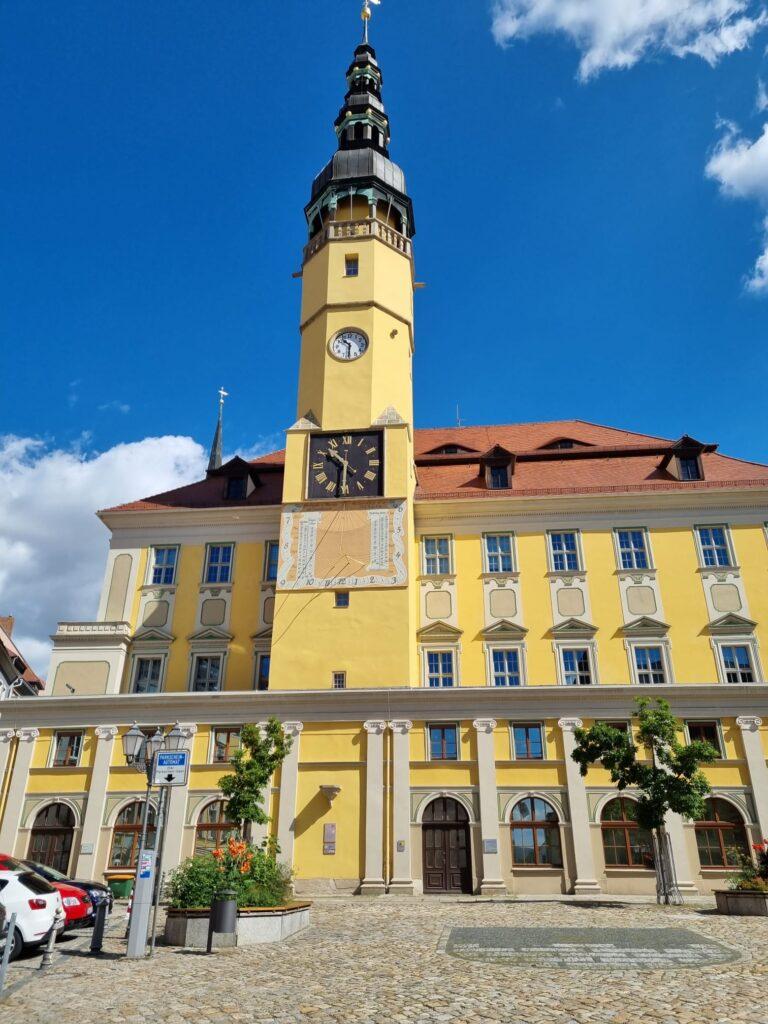 Sonnenuhr in Bautzen